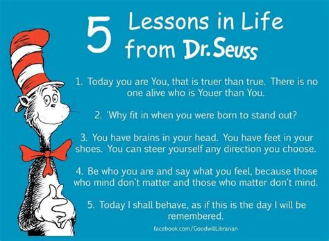 lessons from my books 7 lessons from dr seuss huffpost