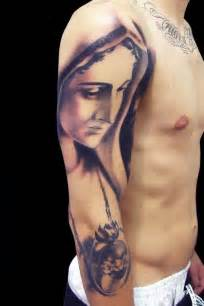 the virgin mary sleeve tattoo ink my whole body