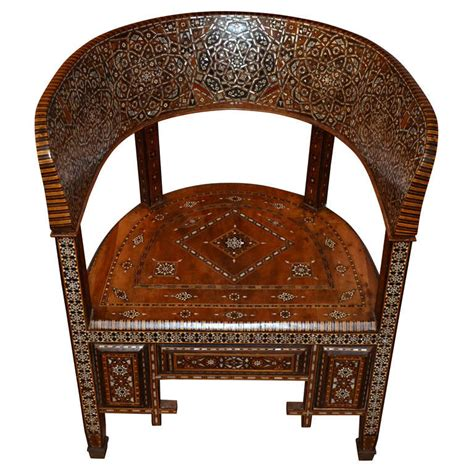 decorative armchairs an unusual and decorative armchair syria circa 1920 at