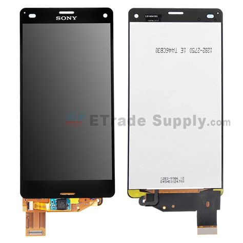 Lcd Sony Xperia Z3 sony xperia z3 compact lcd assembly black etrade supply