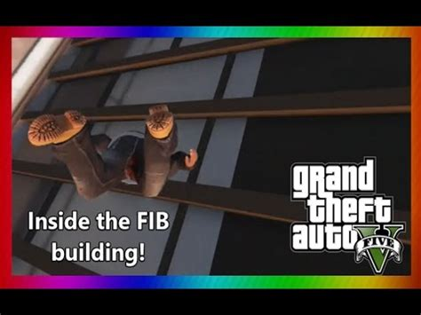 [gta v] how to get into the fib building in single player