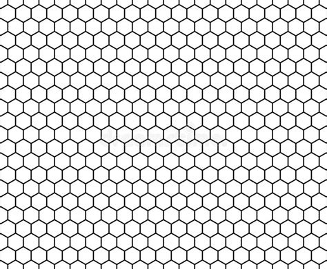 honeycomb pattern black and white vector modern seamless geometry pattern hexagon black and