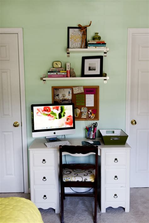 Computer Desk With Shelves Above with Computer Desk With Shelves Above For The Home Pinterest