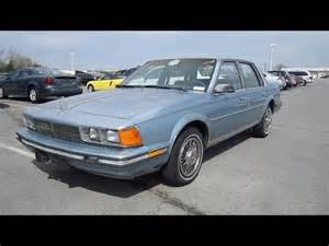Buick Century 1986 1986 Buick Century Limited Start Up Exhaust In Depth