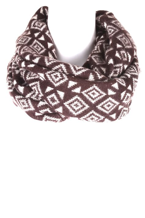 diamond pattern scarf knitting knit diamond pattern infinity scarf scarves
