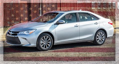 american toyota cars the 2015 toyota camry is the most american made car