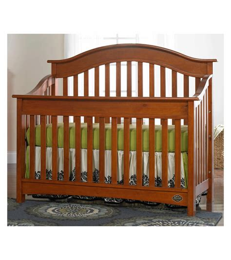 Bonavita Cribs Reviews by Bonavita Easton Lifestyle 2 Nursery Set In Chestnut
