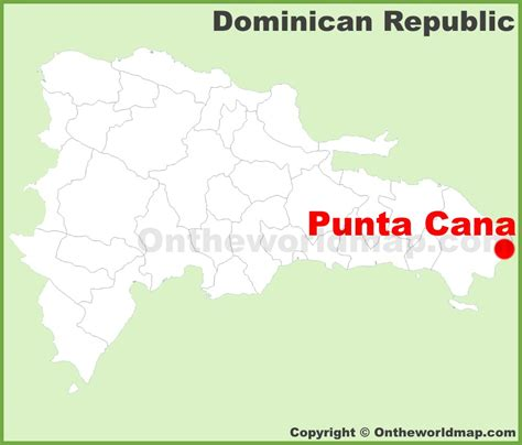 where is republic located on the map punta cana location on the republic map