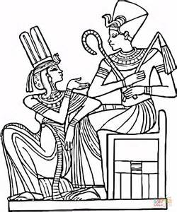 Egyptian Pharaoh Coloring Pages Pharaoh Coloring Pages
