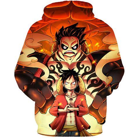Anime One by One Luffy Hoodie Anime Sweatshirts Animemegamerch