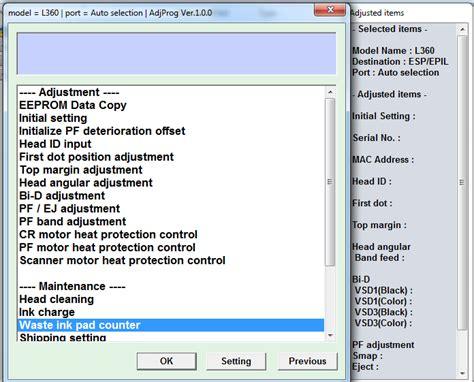 resetter l360 how to reset epson l360 l130 l220 l310 l360