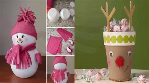 manualidades navide241as faciles de hacer manualidades y adornos para navidad f 193 cil de hacer