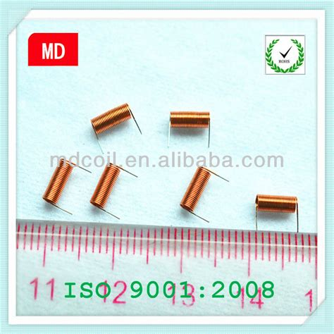 how to make inductor from copper wire winding wire enamelled copper air coil inductor coil buy inductor coil copper air