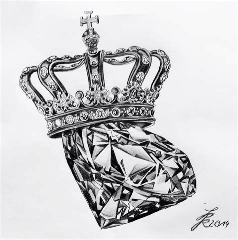 tattoo diamond crown diam crown crown tattoo sleeve тату pinterest crown