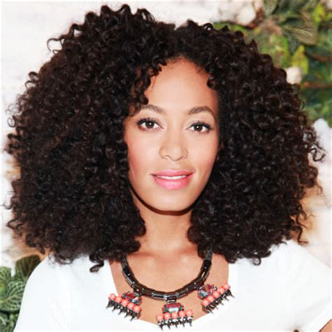 Solange Knowles Hair Type by Summer Hair Trends Studio 417 Salon