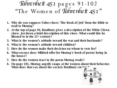 Fahrenheit 451 Section 2 by Fahrenheit 451 Part Ii Questions 97 2003
