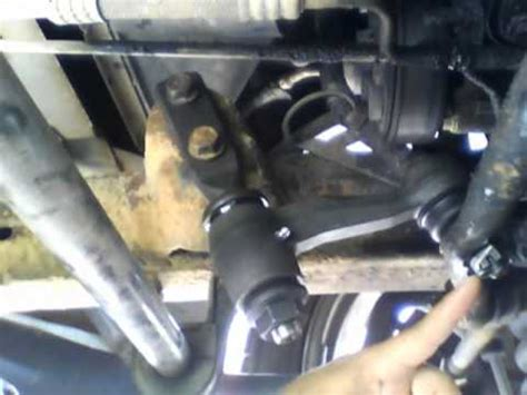 replacing a bad idler arm youtube