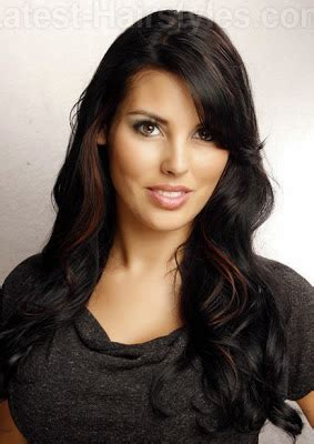 Hair Dryer Sederhana model gaya rambut panjang untuk wajah persegi rambut info