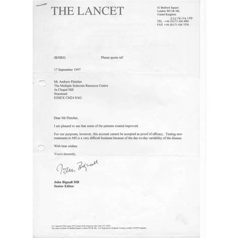 Research Letter Lancet The Lancet Presented With Pilot Study Results For With Ms Inclined Bed Therapy Ibt