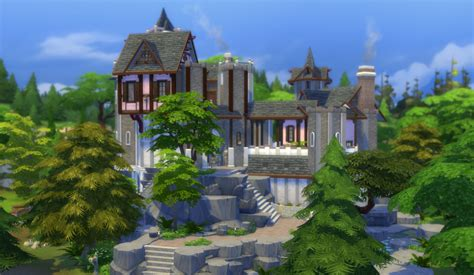 sims 4 medieval castle mod the sims rumanov castle