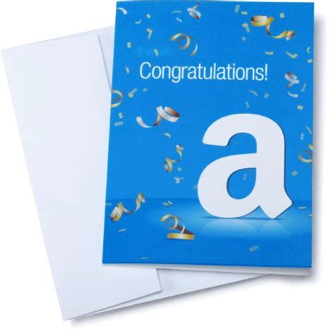 Amazon 30 Gift Card - amazon com 30 gift card in a greeting card congratulations design natural hair