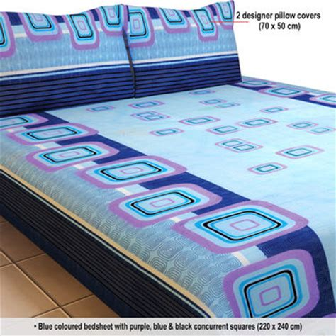 bed sheets and pillow covers buy luxury queen 8 designer double bed sheets with 16