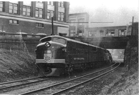 a pair of new york central f3 eastbound at pittsfield ma