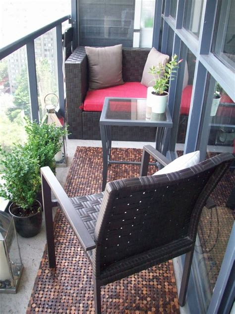Fresh Urban Condo Design Patio Toronto By Theo Condo Patio Furniture