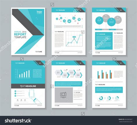 company page template page layout for company profile annual report brochure