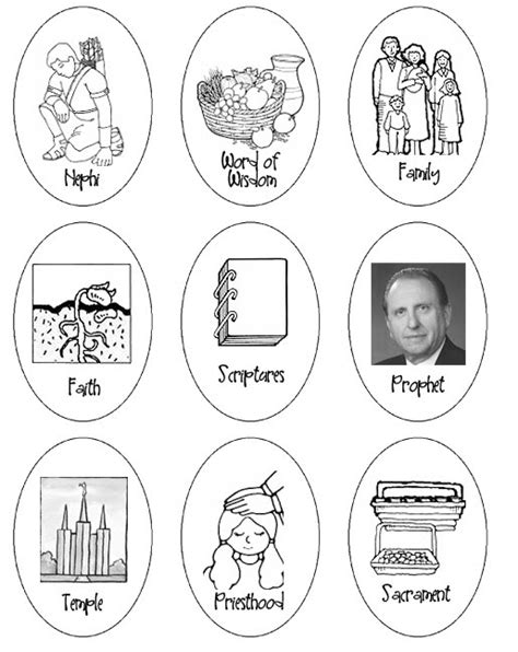 lds coloring pages for easter easypeasy lds general conference easter activities