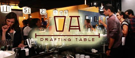 Drafting Table Dc Happy Hour Drafting Table Offering 25 Discount During Opening Week Drink Dc The Best Happy Hours