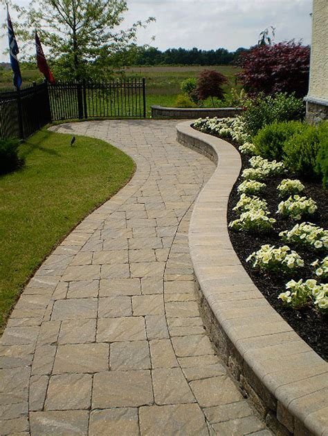 pattern for walkway paver steps stone and timber ideas for the house pinterest paver