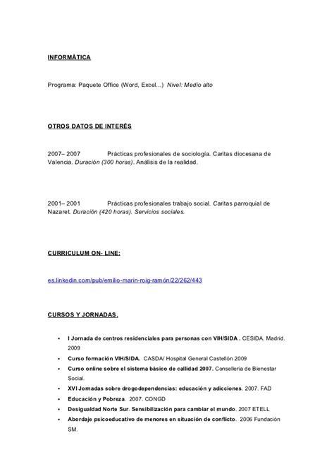 Ejemplo De Curriculum Vitae Trabajo Social Modelo De Curriculum Vitae Trabajo Social Modelo De Curriculum Vitae