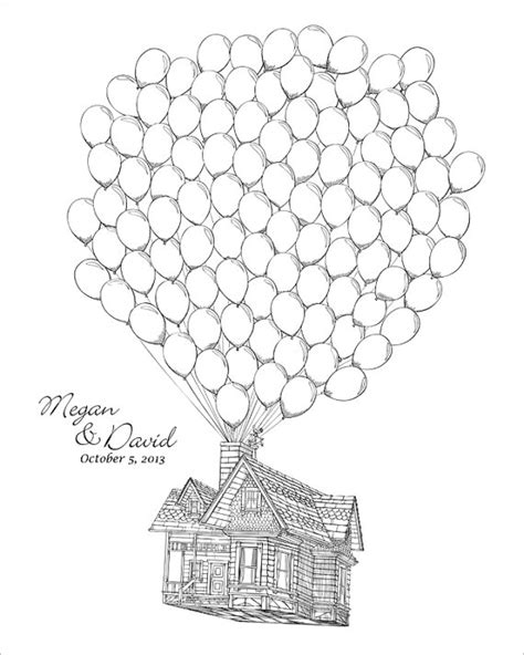 up house coloring page up house balloons coloring pages