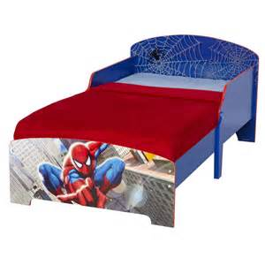 Blue Toddler Car Bed Spiderman Toddler Junior Bed New Spider Man Bedroom
