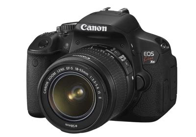 canon kiss x5 (eos 600d / rebel t3i) with 18 55mm kit