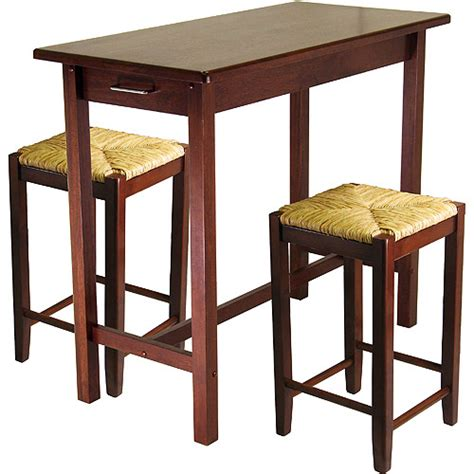kitchen island 3 breakfast set with seat stools