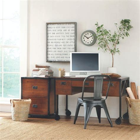 home decorators collectors home decorators collection pine and black desk 0559900210
