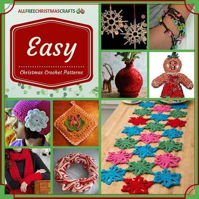 easy christmas crochet patterns