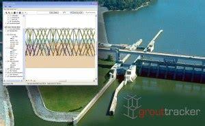 lock layout view gis chickamauga lock and dam grouttracker developer