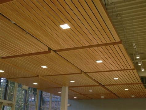 Wood Grid Panel For Suspended Ceiling Asu Walter Ceiling Finish Options