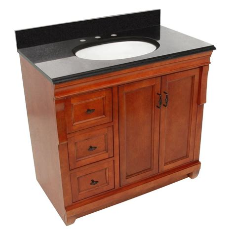 foremost naples 37 in w x 22 in d vanity with left