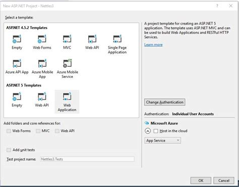 templates for visual studio 2015 asp net mvc 5 does visual studio 2015 community edition