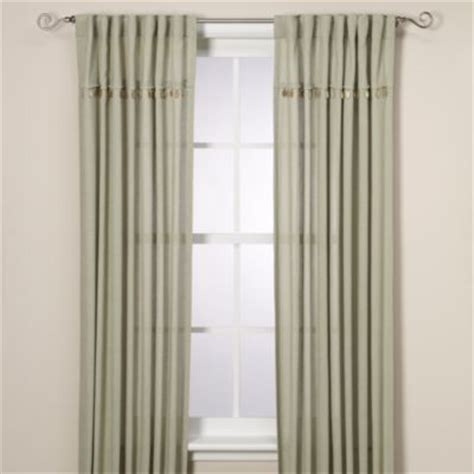 bed bath and beyond chelsea chelsea 108 inch window curtain panel in green