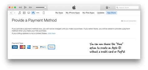 make an apple account without credit card techtotech