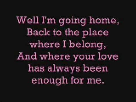 chris daughtry home lyrics
