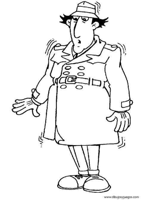 imagenes animadas inspector gadget inspector gadget 009 dibujos y juegos para pintar y