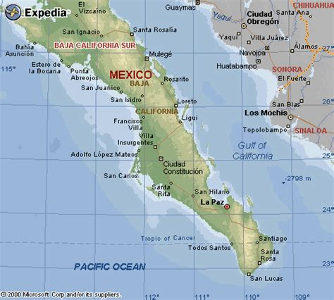 map of mexico baja baja california sur mexico map map of baja california