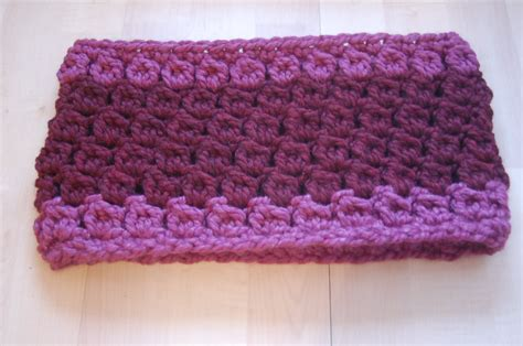 easy quick crochet cowl pattern