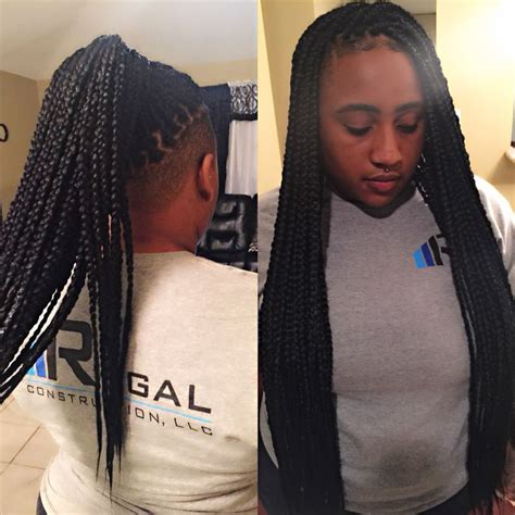 braids with bald hair at the bavk 768 best colorful black hairstyles images on pinterest
